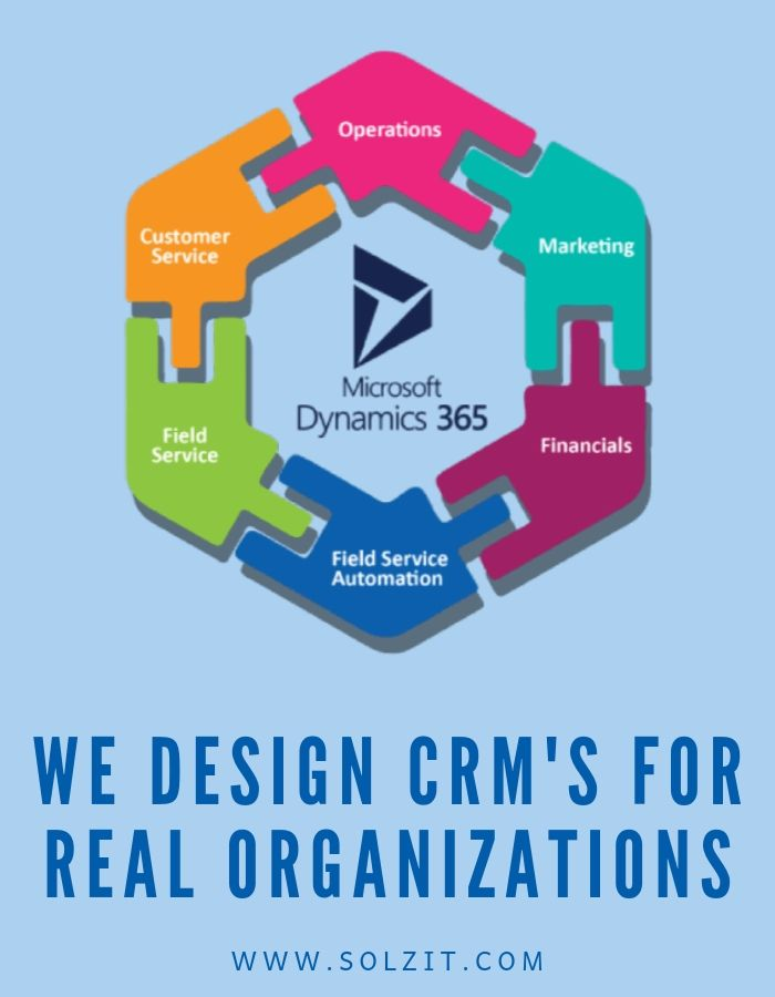 We build CRM for real organizations